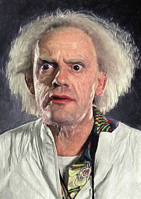 Great Scott - Doc Brown Poster