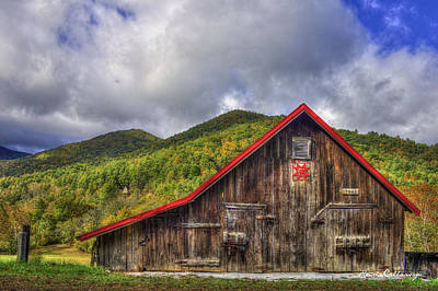 Great Smoky Mountains Barn Poster by Reid Callaway