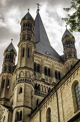 Great St. Martin Church In Cologne Poster