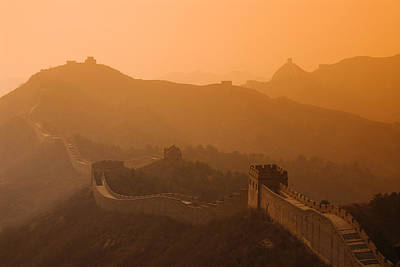 Great Wall Of China Poster by Gloria & Richard Maschmeyer - Printscapes