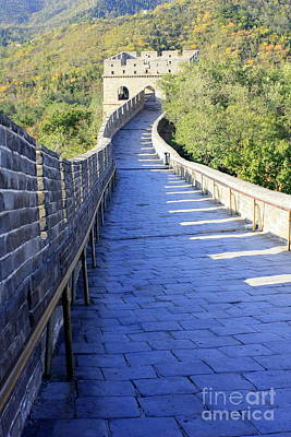 Great Wall Pathway Poster by Carol Groenen
