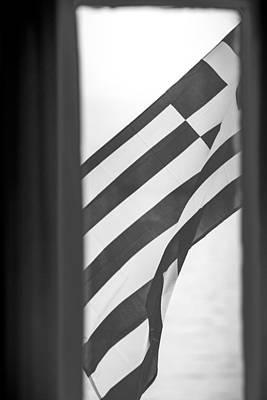 Greek Flag Poster