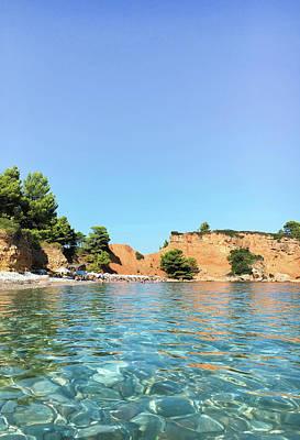 Greek Island Beach Poster