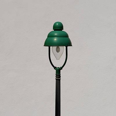 Green Bavarian Lamp Poster