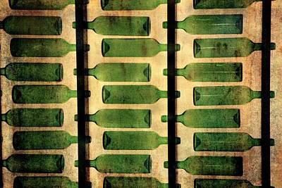 Green Bottles Poster