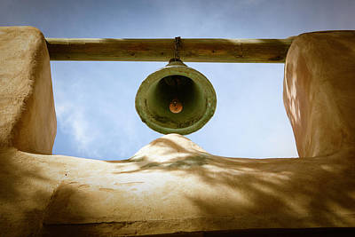 Poster featuring the photograph Green Church Bell by Marilyn Hunt