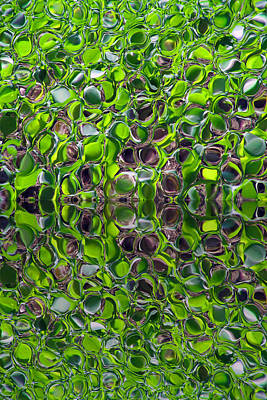 Green Marbles Poster
