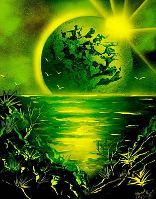 Green Planet 4669 E Poster
