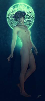 Green Saint Sergius Poster by Joaquin Abella