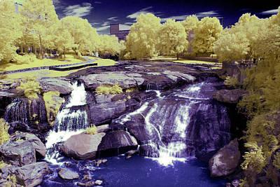 Falls Park Poster by Thomas Morris