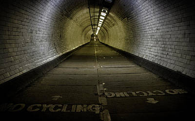 Greenwich Foot Tunnel Poster by Martin Newman