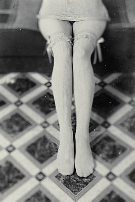 Grey Stockings #6477 Poster