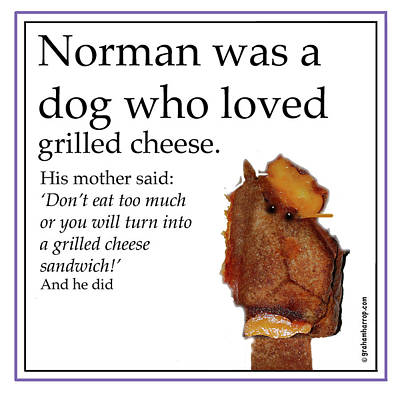 Grilled Cheese Dog Poster