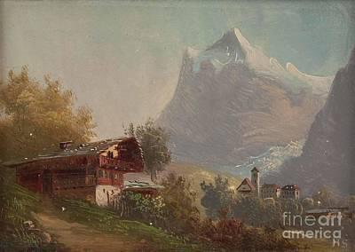 Grindelwald Poster by MotionAge Designs