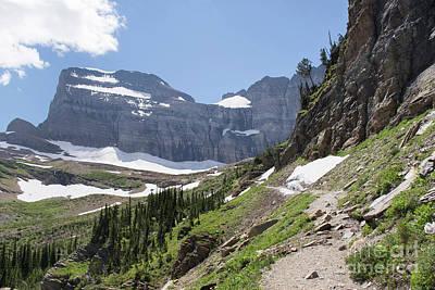 Grinnell Glacier Trail - Glacier National Park Poster