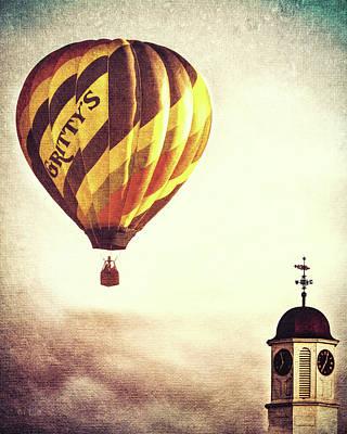 Gritty Mcduffs Hot Air Balloon Poster