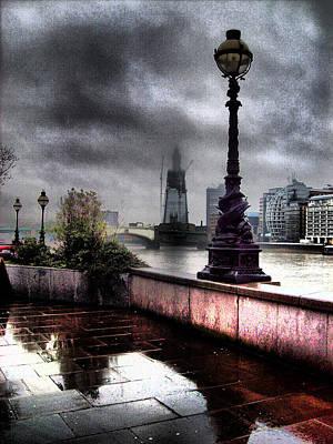 Gritty Urban London Landscape Poster