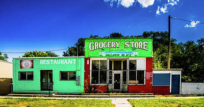 Grocery Store - Goshen Utah Poster by TL Mair