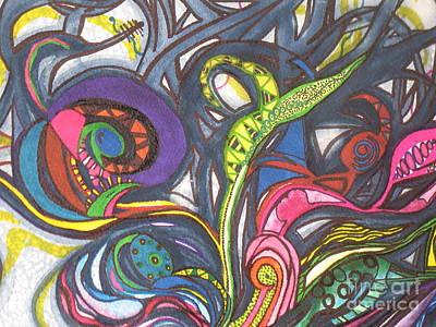 Groovy Series Poster by Chrisann Ellis