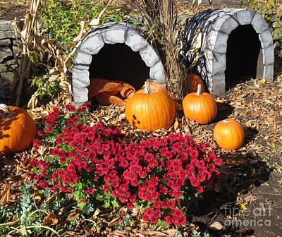 Grottes D'halloween / Halloween Grottos Poster