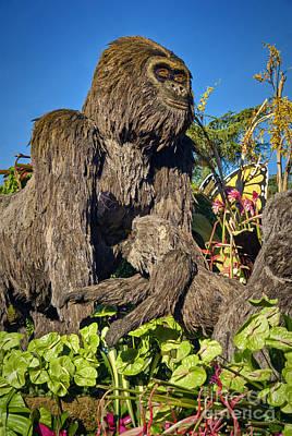 Ground Dwelling Gorillas Poster