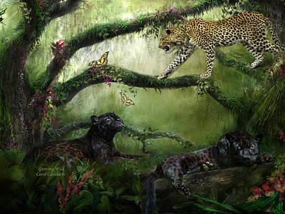 Growing Wild Poster by Carol Cavalaris