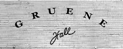 Gruene Hall Poster