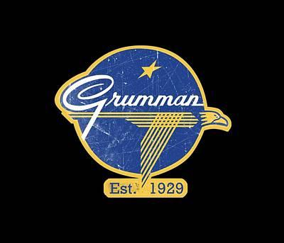 Grumman Est 1929 Distressed Poster