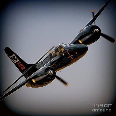 Grumman F7f Tigercat Here Kitty Kitty Poster
