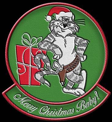 Grumman Merry Christmas Poster
