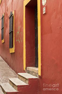 Guanajuato Mexico Colorful Building Poster by Juli Scalzi