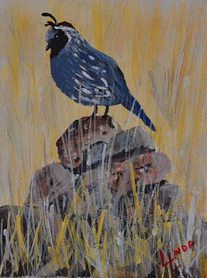 Guard Bird Poster by Linda Larson