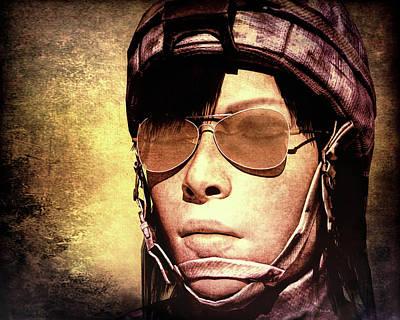 Guard Duty Poster by Bob Orsillo
