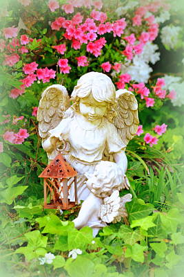 Poster featuring the photograph Guardian Angel by Lisa Wooten