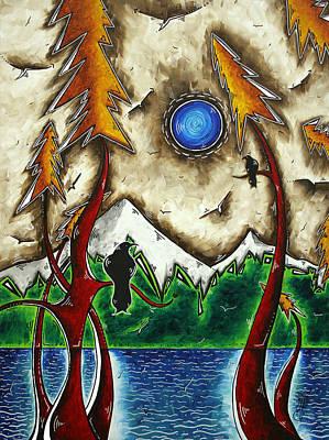 Guardians Of The Wild Original Madart Painting Poster