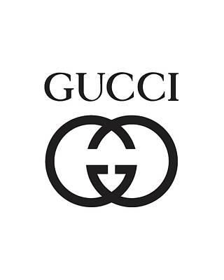 Gucci - Black And White Poster
