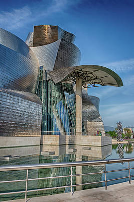 Guggenheim Museum Bilbao Spain Poster by James Hammond