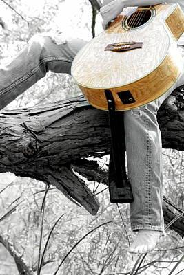 Guitar Has A Soul Poster