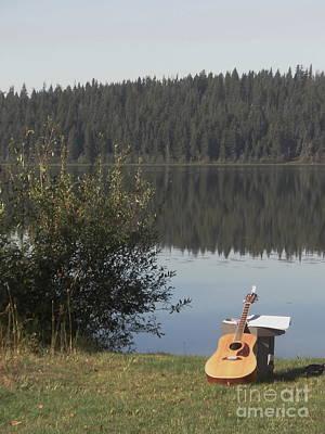 Guitar Lake Poster