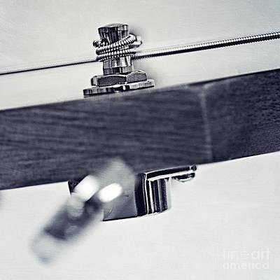 guitar V Poster by Priska Wettstein