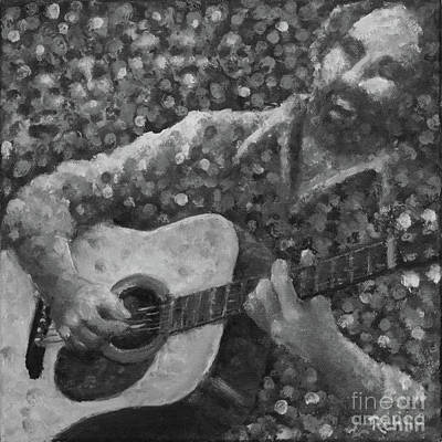 Guitarman 3 Poster by Jim Rehlin