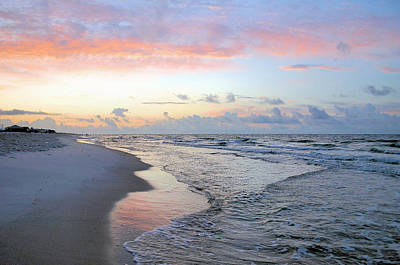 Gulf Shore Poster by Kristin Elmquist