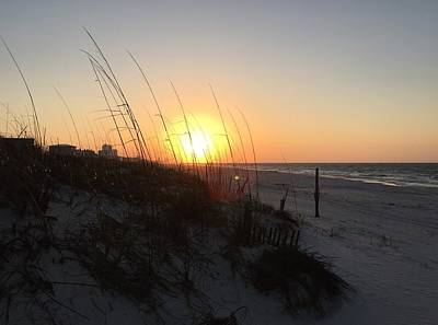 Gulf Shores Sunrise  Poster