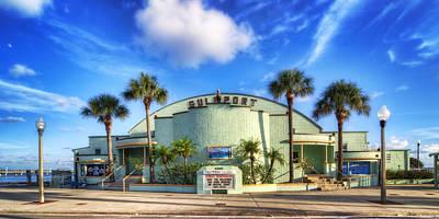 Gulfport Casino Poster by Tammy Wetzel