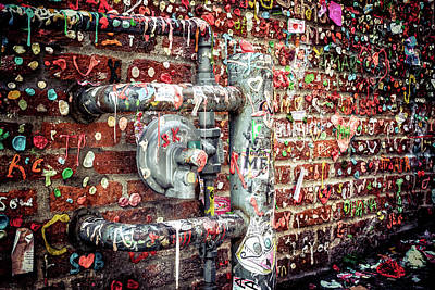 Poster featuring the photograph Gum Drop Alley by Spencer McDonald