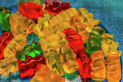 Gummy Bears Poster by Scott Kwiecinski