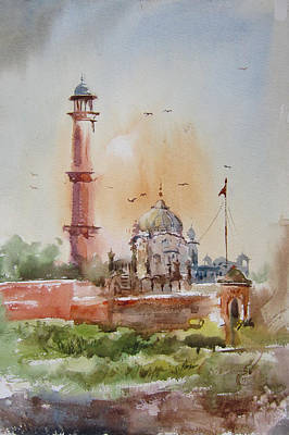 Gurdwara Lahore Poster