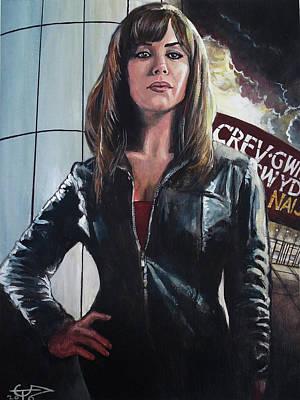Gwen Cooper Poster by Tom Carlton