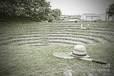 Gwennap Pit Cornwall Poster by Terri Waters