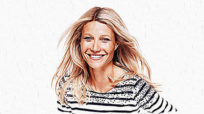 Gwyneth Paltrow Poster by Iguanna Espinosa